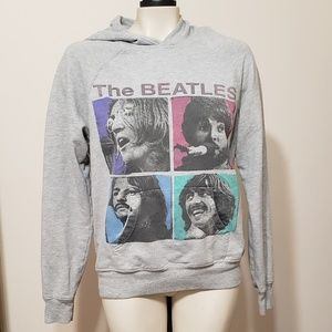 The Beatles gray pullover hoodie,  junior's L